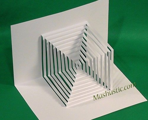 3d paper geometric figures origami paper fold