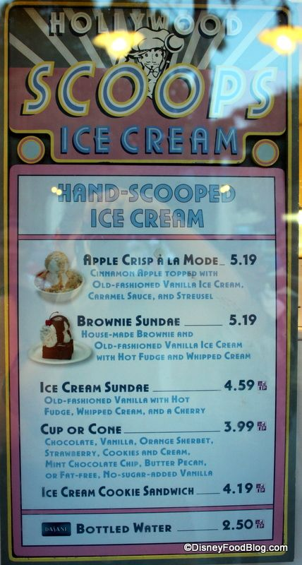 review hollywood scoops at disneys hollywood studios the disney food blog - Free Disney Games For 4 Year Olds
