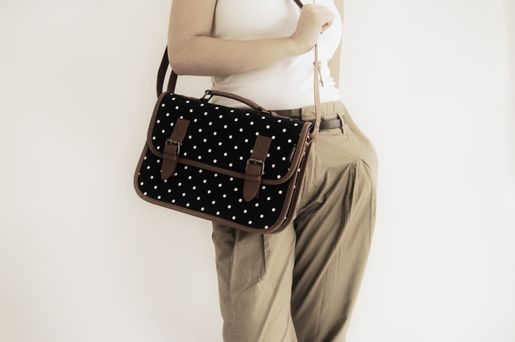 Classic dotted University Suitcase