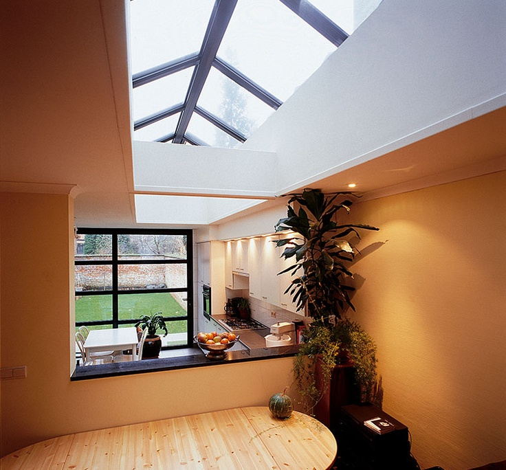 Create Character And Style With Reynaers At Home Roof Windows