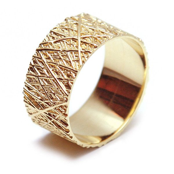 Gold Forest Ring - Love and Pride