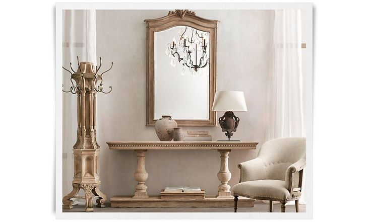 Foyer Table Restoration Hardware : Best images about my restoration hardware on pinterest