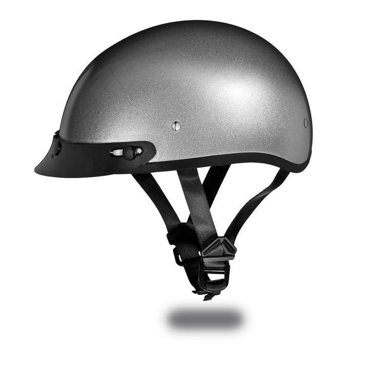 International Biker Mall  - D.O.T. DAYTONA SKULL CAP- SILVER METALLIC, $51.95 (http://www.internationalbikermall.com/d-o-t-daytona-skull-cap-silver-metallic/)