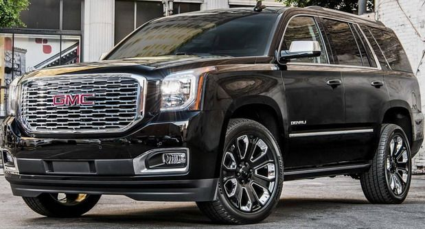 2018 Gmc Yukon Denali Ultimate Black Edition Gmc Truck Gmc Trucks Gmc Yukon Denali