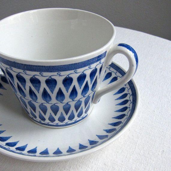 Upsala Ekeby Gefle Lillemor Breakfast Cup by BarkingSandsVintage