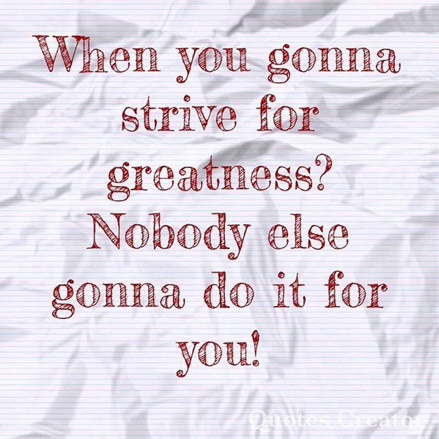 """""""Greatness is something worked on! You can't phone that shit in! #mindset #triumph #victory #success #successful #brand #blogger #branding #marketing #business #businesswoman #billionaire #millionairemindset #crossfit #mma #digitalmarketing #nofear #will #winner #faith #dream #dreams #grind #weightloss #fitness #fitnessjourney #weightlosssuccess #crossfit #boxing #nofilter #noexcuses"""" by @shaydognia. #startupgrind #successmindset #businesslife #inspiringquotes #successquote…"""