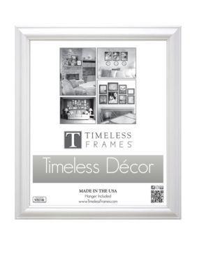 Timeless Frames  Brenna White 18x24 Frame - Online Only
