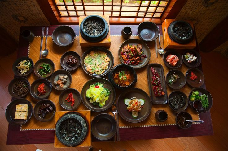 Korean meal - I can't wait to eat authentic Korean food in  Korea.