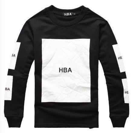 Hood By Air Sweatshirts Black