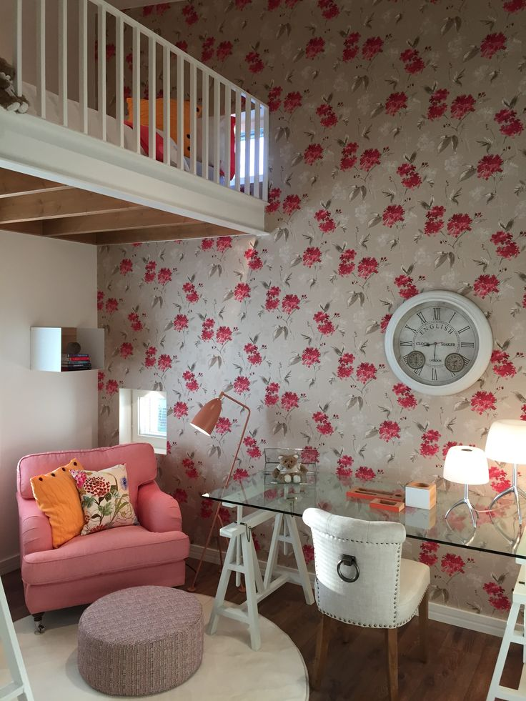 Sleeping room with 5m2 loft. #asuntomessut2015 Passiivikivitalo kohde 28
