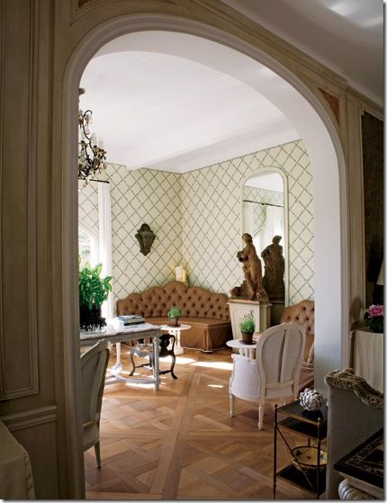 114 best Beautiful Interiors - Nicky Haslam images on Pinterest | Nicky  haslam, Sitting rooms and Architectural digest