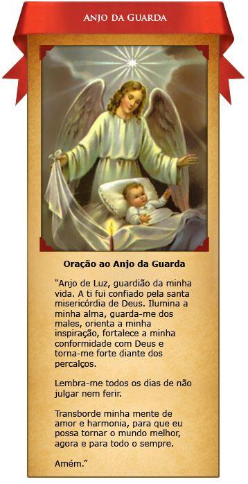 Oração ao Santo Anjo da Guarda
