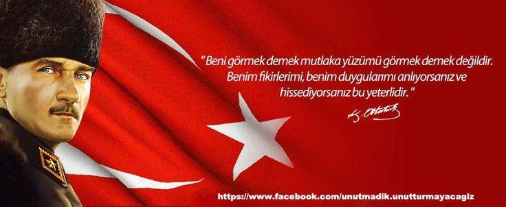 ● Bilelim ki, milli benliğini bilmeyen milletler, başka milletlere yem olurlar.● Arkadaşlar! Devrimimiz Türkiye'nin yüzyıllar için mutluluğunu üstlenmiştir. Bize düşen onu kavrayarak ve takdir ederek çalışmaktır.