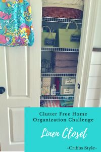 No matter how big or how small your linen closet may be, how you organize your space will make this important hub of your home multifunctional. #cribbsstyle #linencloset #closetorganization #storagesolutions