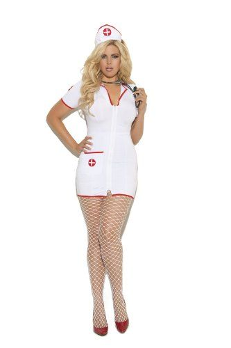 Elegant Moments Women's Plus-Size Head Nurse-Plus, White, 1X/2X Elegant Moments http://www.amazon.com/dp/B00CJHPZAW/ref=cm_sw_r_pi_dp_mYUhwb00BYPAS