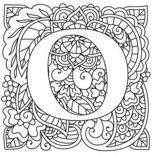 Mendhika Letter O_image