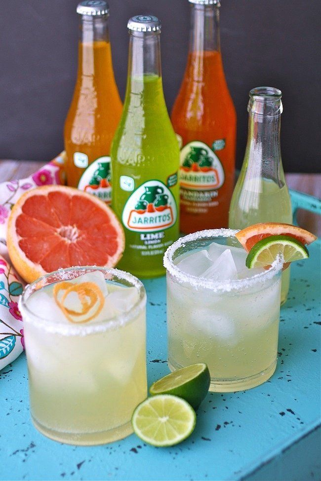 Here are a few recipes that perfectly mix the sweet natural sugars in Jarritos with everything from tequila to rum. Try your hand at them STAT.