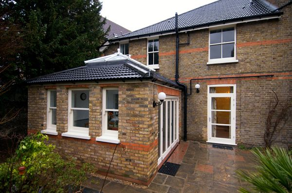 Single story extension to a Victorian Detached house in Bromley