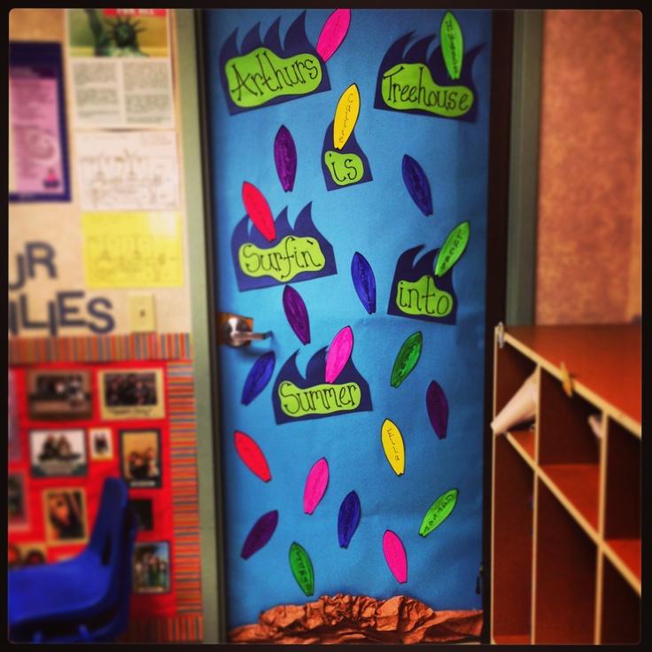 Summer Classroom Door Decorations ~ Best images about classroom door bulletin board on