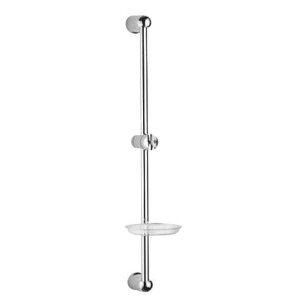 Buy Jaquar Sliding Rail 19mm & 600mm Long Round Shape with Hand Shower Holder and Soap Dish SHA-1187 in Showers through online at NirmanKart.com