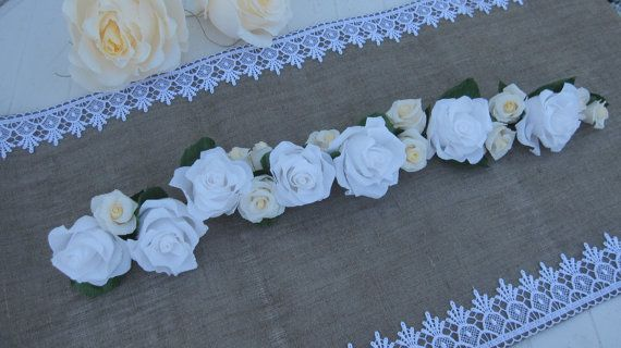 Garland Wedding GIRLANDE decorations  wedding by moniaflowers