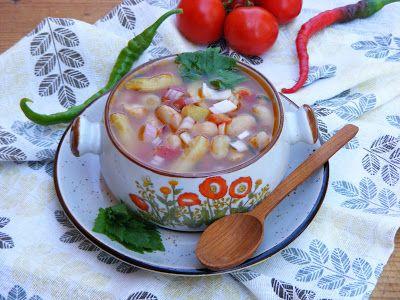 Makacska konyhája: Zsengéspaszuly leves