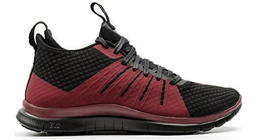 nike FC hypervenom 2 mid mens trainers 747140 sneakers shoes (US 6.5, black team red 006)