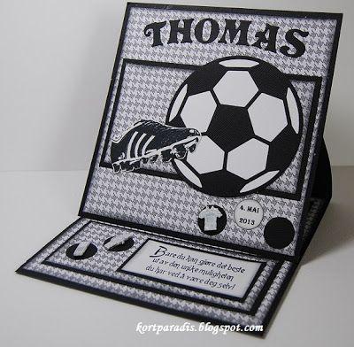 Fotballkort til konfirmant