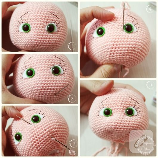 amigurumi bebek yapımı
