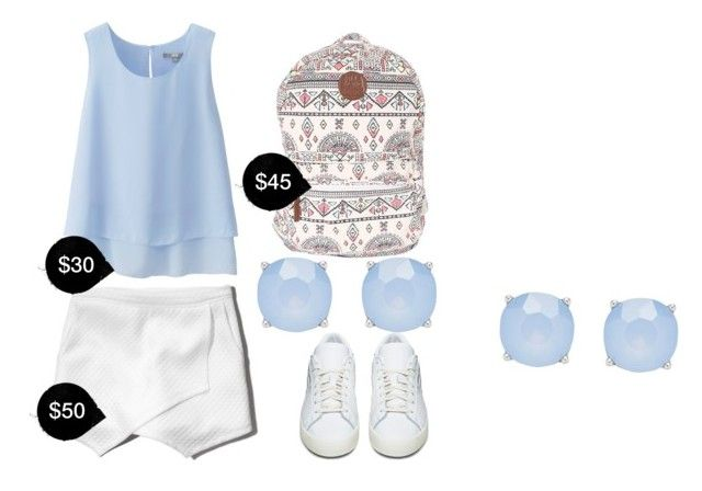 """My First Polyvore Outfit"" by madelyn-krus ❤ liked on Polyvore featuring Uniqlo, Abercrombie & Fitch, Billabong, Forever New and adidas Originals"