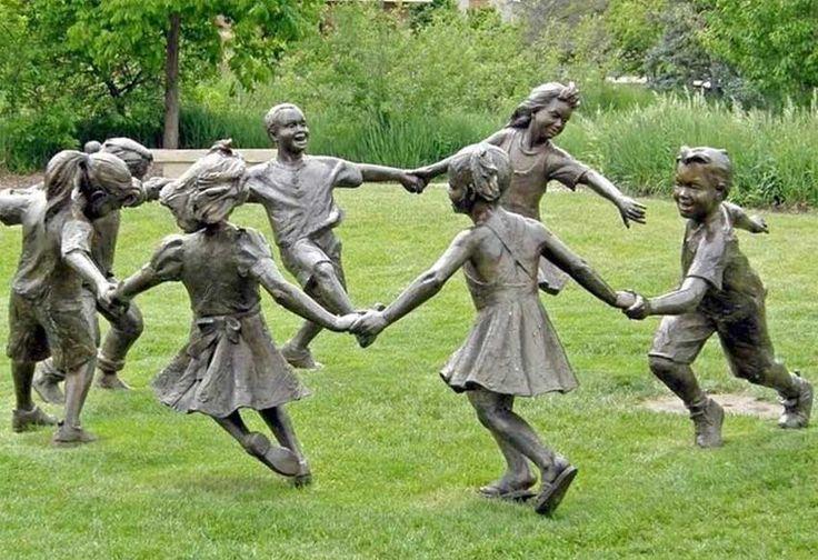 Garden Sculptures   Arte - Escultura - Benson Garden Sculpture Park - Ciranda
