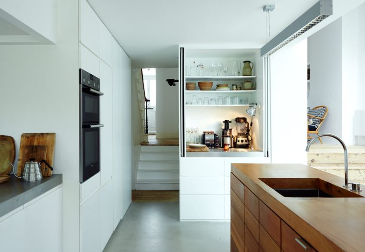 Renovated kitchen in London