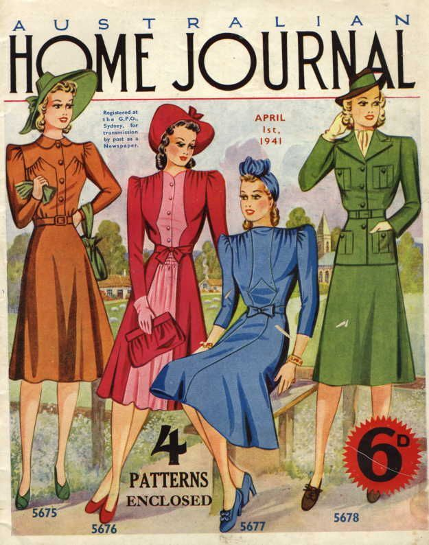 vintage women's magazines from 1950s - Google Search