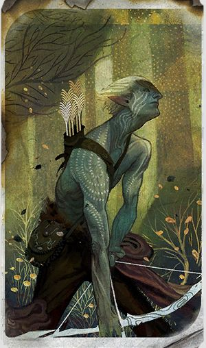DRAGON AGE: INQUISITION EXTRACTS - RACE CARDS