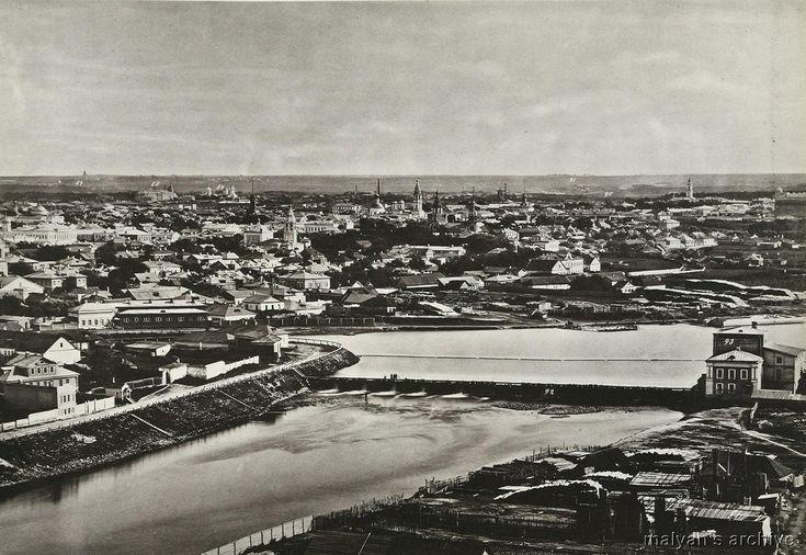 1867 Moscow BW big 15 - Бабьегородская плотина — Википедия ...