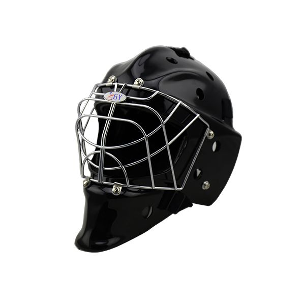 Темно-черный флорбол и хоккей на траве шлем горячей продажи вратарь шлем