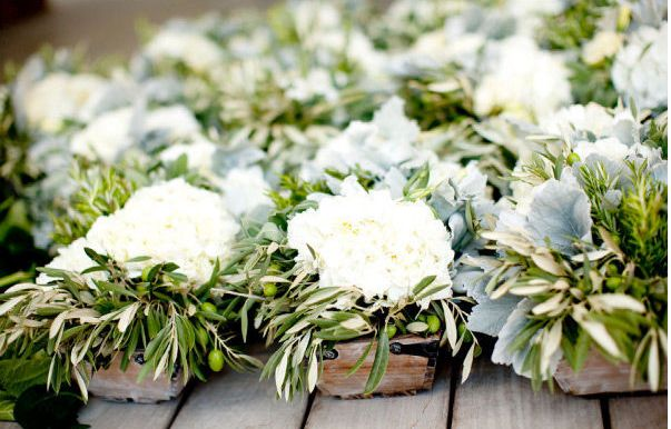 Gardenias and Olive leaves - to die for