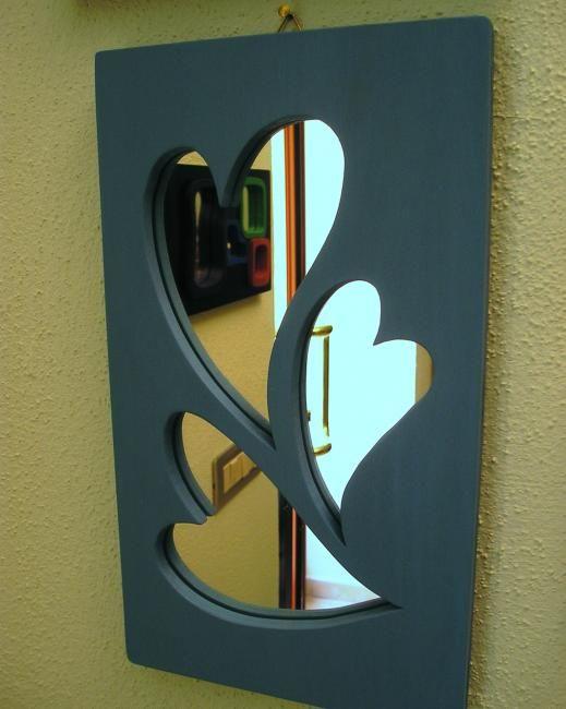 specchio cuori