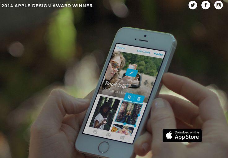 Storehouse, dé tool om een verhaal te visualiseren. Ga op pad. Fotografeer, film en schrijf op wat je meemaakt en reproduceer dat met een paar handelingen via deze app tot een te gekke online pagina die je makkelijk kunt delen.