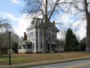 1842 Stick Victorian home