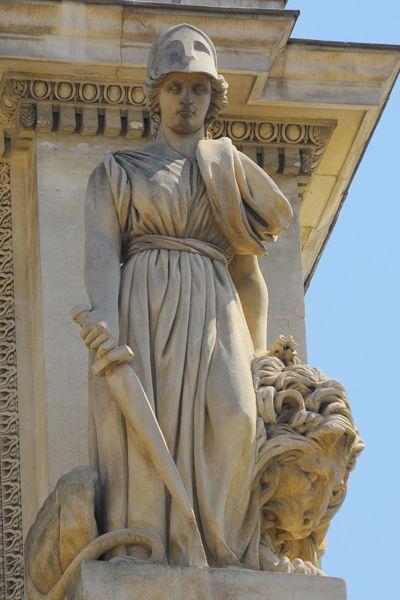 La force. David d'Angers. . Marseille