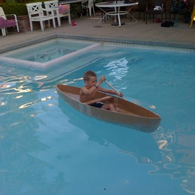 Cardboard? Soda bottles?  Barrels?  All potential boats with these instructables.  family boat races will be happening for sure.