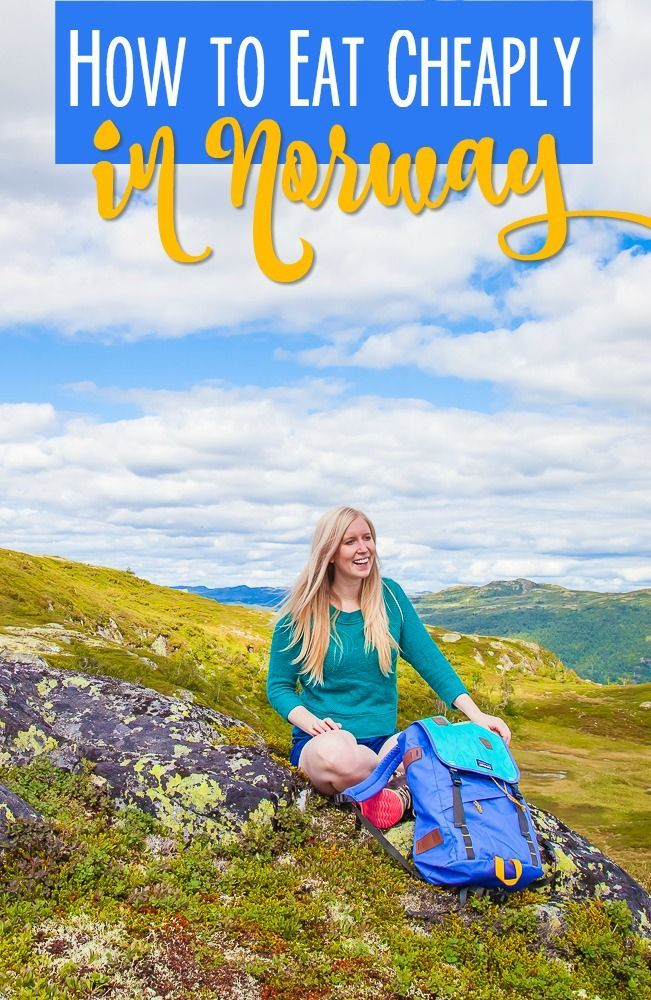 It's totally possible to travel through Norway on a budget: here's how to find cheap food and not break your budget while eating in Norway!