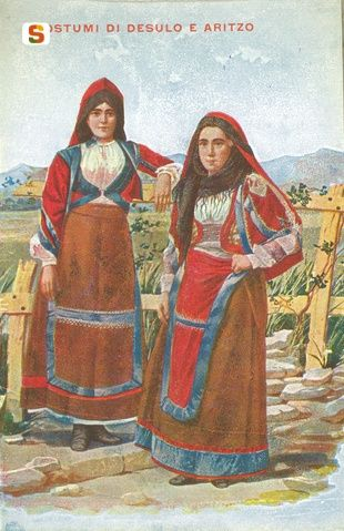 Sardegna DigitalLibrary - Immagini - Aritzo e Desulo, abiti tradizionali