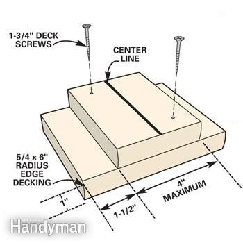 7 Deck Building Tips - Step by Step: The Family Handyman