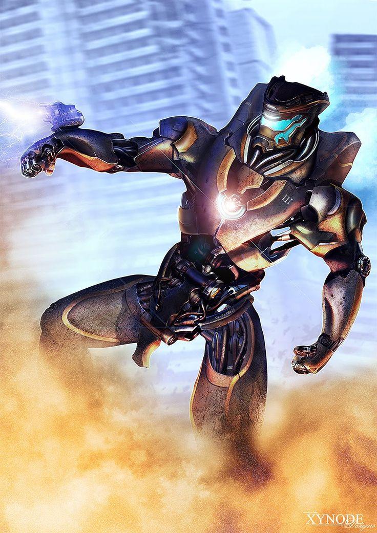Mark III Titan: creative stages