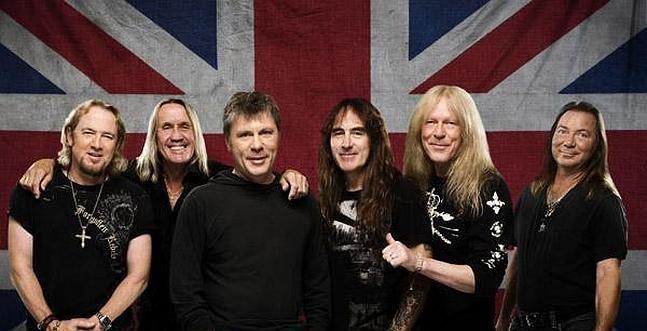 Iron Maiden confirma visita a Chile para marzo de 2016