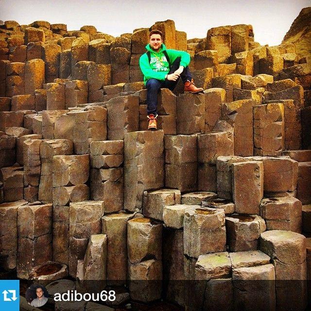 #Repost @adibou68 with @repostapp.・・・#GiantCauseway #Paddywagon #ireland #Earth #Geology #amazingtrip #NdLBrotherNSister #stones #pangea #irishgiant