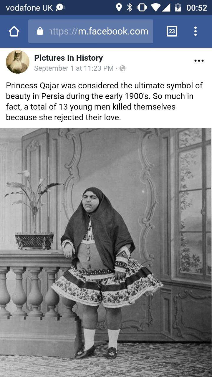 Princess Qajar History memes, Wtf fun facts, Man kill
