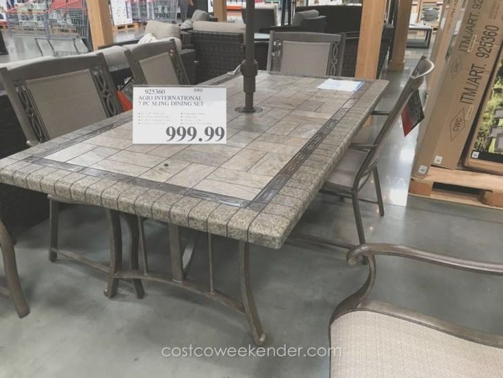 Costco Dining Room Table Sets Outdoor, Costco Dining Room Table